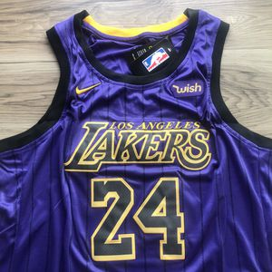 BRAND NEW! Kobe Bryant #24 Los Angeles Lakers Purple Pinstripe Jersey + SHIPS OUT TODAY! 📦💨 for Sale in Los Angeles, CA