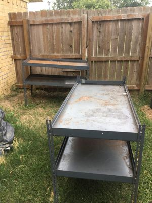 Steel shelves for Sale in Carrollton, TX