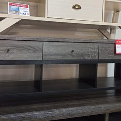 NEW,EXTRA LARGE TV STAND - DISTRESSED GREY, SKU#TC161828. for Sale in Westminster,  CA