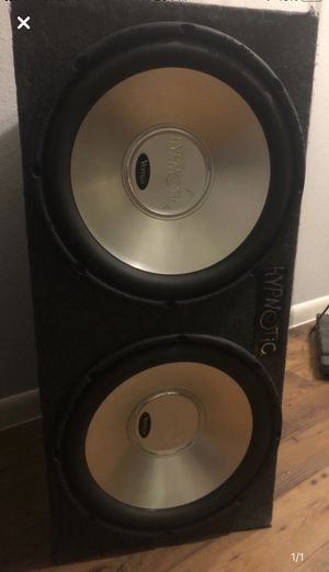 hypnotic speakers 15s for Sale in Austin, TX
