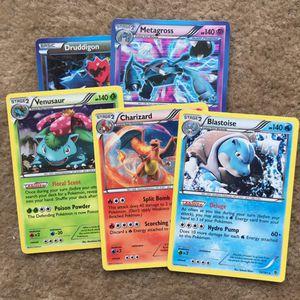 Blastoise / Charizard / Venasaur Pokemon Cards for Sale in Fairfax, VA