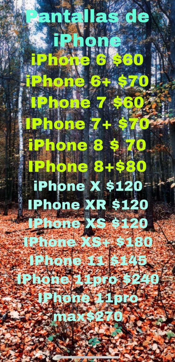 Switch iPhone screens