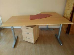 Corner Desk with Drawer Unit for Sale in Atlanta, GA