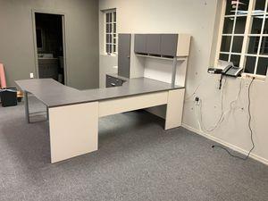 Gray Desk for Sale in Peoria, AZ