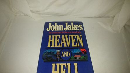 Heaven and Hell The Conclusion of the North and South Trilogy by John Jakes 1987 GC for Sale in La Habra,  CA
