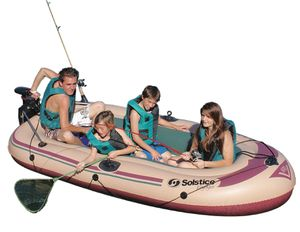 Solstice Inflatable Boat 6 Person Boat for Summer Fun! for Sale in Pasadena, CA