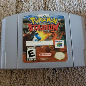 Pokemon Stadium Nintendo 64 for Sale in Downey, CA