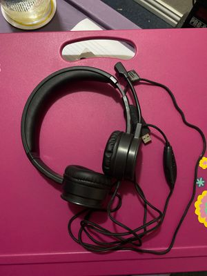 Black Web USB Headset for Sale in Truth or Consequences, NM
