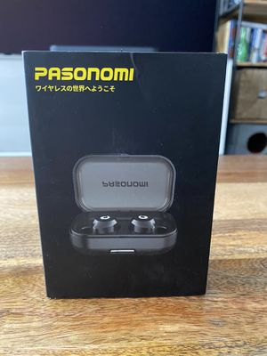 Pasanomi TWS-X9 Wireless Bluetooth Earbuds with Charging Case - New for Sale in Teaneck, NJ