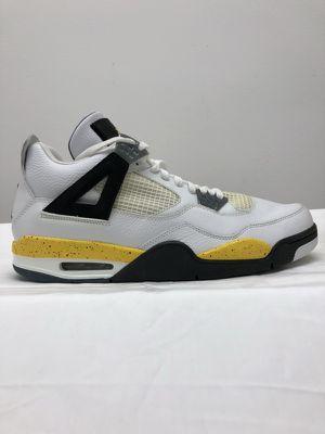 Jordan 4 Tour Yellow Rare Air men's sz 13 DS no box 2005 release for Sale in Chicago, IL