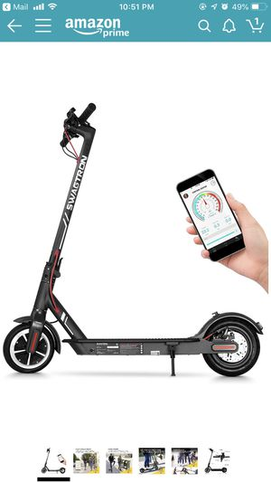 """Swagtron High Speed Electric Scooter with 8.5"""" Cushioned Tires, Cruise Control and 1-Step Portable Folding - Swagger 5 for Sale in Santa Monica, CA"""