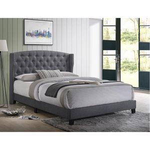 Grey Queen Bed Frame ON SALE🔥 for Sale in Fresno, CA