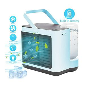 Portable Air Conditioner Fan, Personal Air Cooler for Sale in Covina, CA