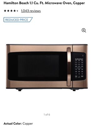 Copper Microwave for Sale in Rockville, MD