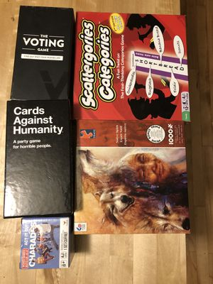 Games and puzzle for Sale in Portland, OR