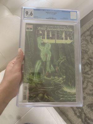 The immortal hulk 2 for Sale in Miami, FL