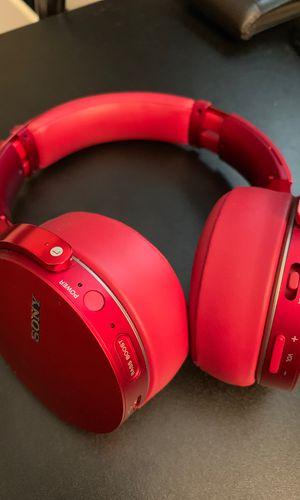 Sony bass boost headphones (wireless) for Sale in N REDNGTN BCH, FL