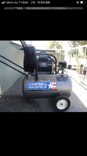 Air compressor 11 gallons for Sale in Riverside, CA