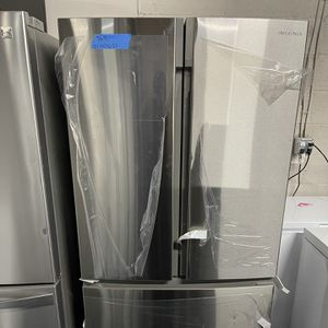 Brand New Insigni French Door 36in Stainless Steel -6 Months Warranty for Sale in Baltimore, MD