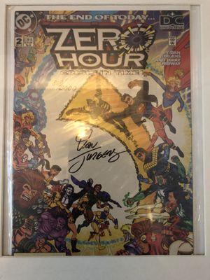 Zero Hour Crisis in Time 2 Signed Dan Jurgens 818/2000 Autographed DC for Sale in Clovis, CA