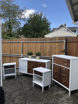 Mid century bedroom set newly redone for Sale in Tacoma, WA
