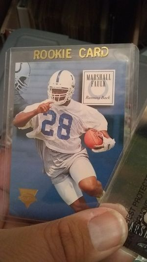 Vintage Marshall faulk rookie card for Sale in Poway, CA