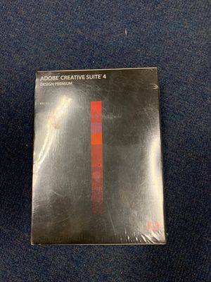 Adobe Creative Suite 4 for Sale in Carlsbad, CA