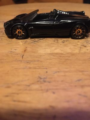 Black and Gold 17 Pagani Huayra Hot Wheels for Sale in Pomona, CA