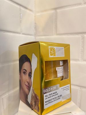 GLOBAL BEAUTY CARE GOLD GEL FACE WITH MASK APPLICATOR. for Sale in Winter Haven, FL