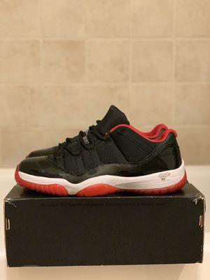 Jordan 11s bred low for Sale in Annandale, VA