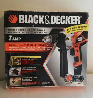"7 Amp Corded 1/2"" Drill Driver for Sale in Rockford, IL"