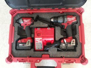 Milwaukee drill impact set for Sale in Renton, WA