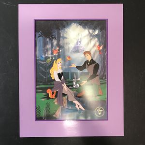 Disney's SLEEPING BEAUTY, Exclusive Commemorative Lithograph 1996, NEW for Sale in Westlake, MD