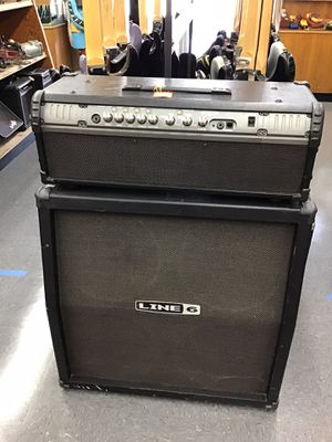 LINE 6 AMP HEAD AND SPEAKER BOX for Sale in Fresno, CA