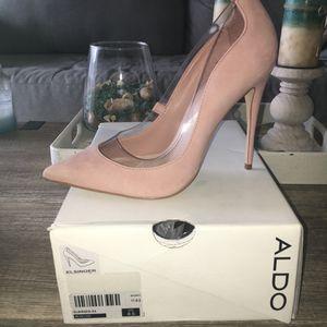 Aldo Blush Suede Heels for Sale in Wichita, KS