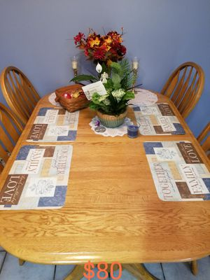 Table set with one leaf for Sale in GERMANTWN HLS, IL