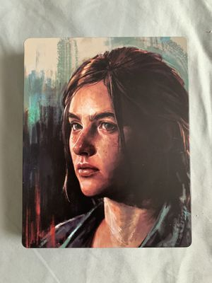 The last of us especial edition steel book for Sale in East Hartford, CT
