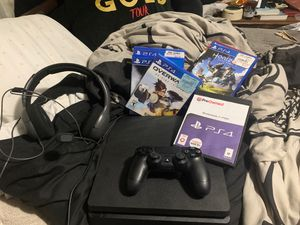 PS4 with 6 games for Sale in Delaplane, VA