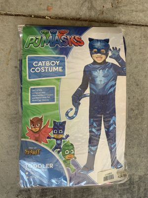 Halloween Costume PJ Masks Catboy 5T-6T for Sale in Rancho Santa Margarita, CA