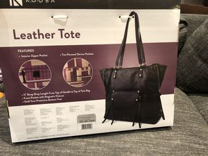 Brand new leather tote bag for Sale in Las Vegas, NV