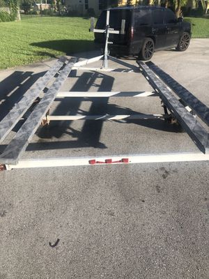 Pontoon boat Trailer continental for Sale in Fort Lauderdale, FL