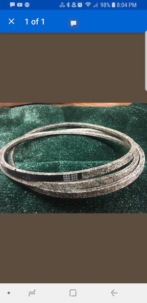 """42"""" Riding Mower Deck Blade Belt for Sale in Knoxville, TN"""