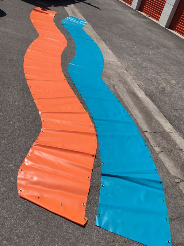 24-25 ft Vinyl Banner Signs - Blank