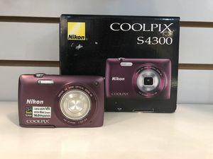 Nikon Digital Camera Coolpix S4300 (phl037979) for Sale in Philadelphia, PA