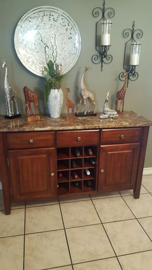 Side board ,buffet with wine storage for Sale in San Diego, CA
