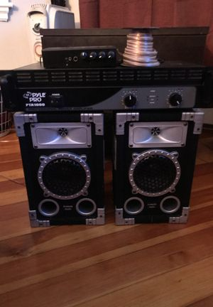 PylePro Amp, Rolls MiniMixer, Acoustic Audio Speakers for Sale in Brookline, MA