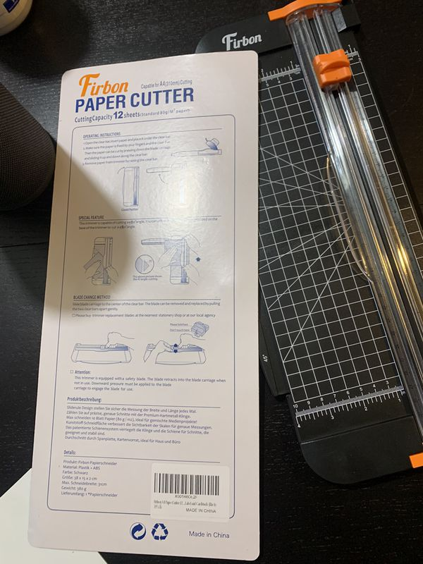 Paper Cutter Open Box