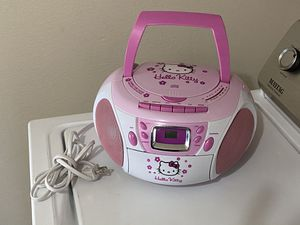 Hello kitty FM/ CD/ Tape stereo for Sale in Albuquerque, NM