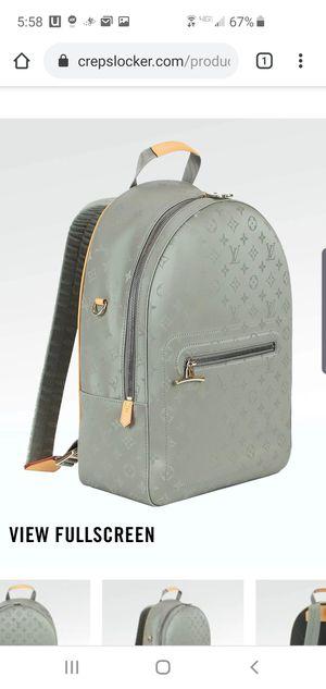 Louis Vuitton titanium backpack for Sale in San Francisco, CA