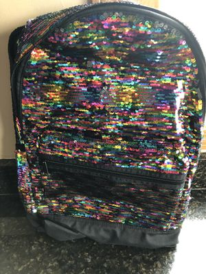 Pink New with Tags bling campus backpack for Sale in Joliet, IL